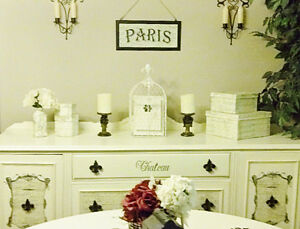 STUNNING French Script SIDEBOARD