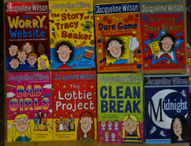 20 Jacqueline Wilson Books