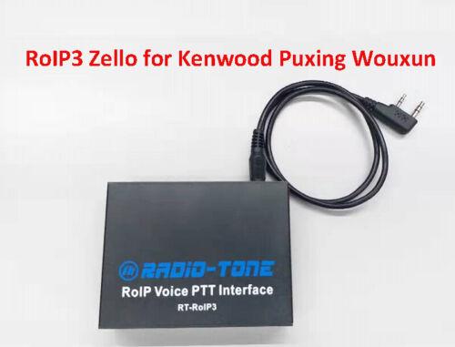 Radio-tone over-IP Zello,Real PTT, Azatt RT-RoIP3 KG-UVD1P baofeng UV-5R kenwood