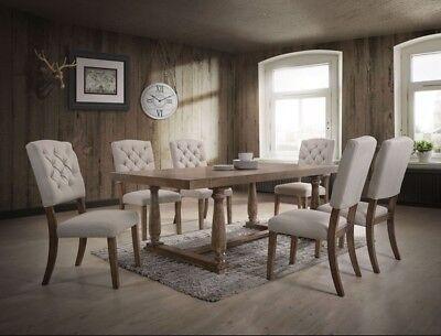 Acme Bernard 7 Piece Dining Room Set 66187