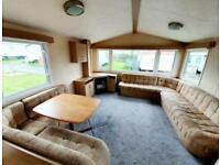 Static caravan for sale 3 bedroom west coast Scotland Ayrshire near Glasgow