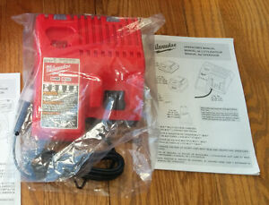 Milwaukee M18 M12 Battery Charger NEW Batterie Chargeur 18V 12V