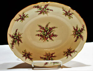 Rare Hammersley Co. Glamis Heather Oval Fruit Bowl/Deep Plate Edmonton Edmonton Area image 1