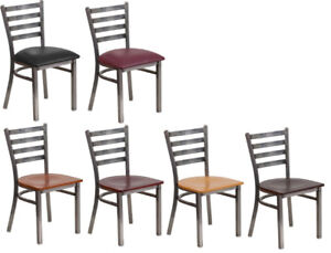 INDUSTRIAL RESTAURANT METAL DINING CHAIR BAR STOOL