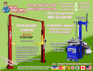 Car Lift Tire Changer - 24 mos. 0% Interest