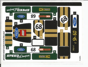 LEGO Speed Champions Decal Set