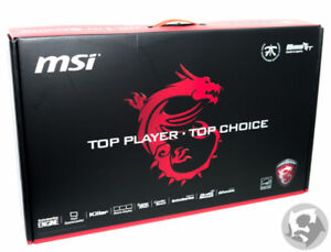 Brand New MSI Gaming Laptop For Sale!