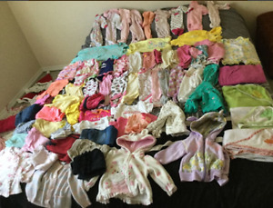 0-3+3-6 month girl clothing and much more! Price in description