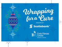 'Wrapping for the Cure' Cystic Fibrosis Canada