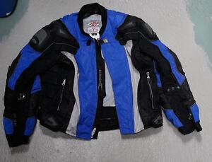 Joe Rocket Motorcycle Jacket and pants and gloves