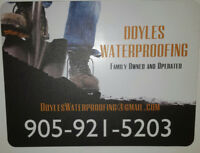 DOYLE'S  WATERPROOFING