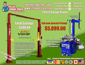 Car Lift & Tire Changer - Financing Available