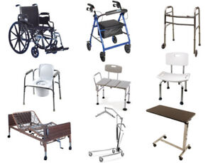 New for Price of Used - All New in Box commode, bath chair