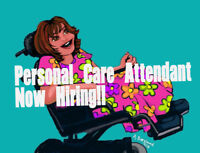 Personal Care Attendant: Training Provided