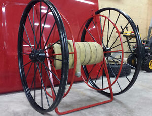 Antique Fire Hose Reel