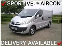 2011 VAUXHALL VIVARO 2.0CDTi (115ps) EU5 ~ SPORTIVE WITH A/C ~ 1 OWNER FROM NEW