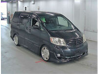 FRESH IMPORT FACE LIFT 2004 TOYOTA ALPHARD ESTIMA AUTO ELECTRIC SIDE DOOR