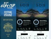 Grey Cup Tickets (Excellent seats)