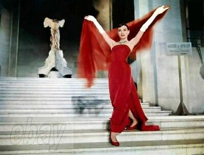 AUDREY HEPBURN MOVIE PHOTO from the 1957 film FUNNY FACE