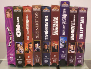 The Bond Collection - VHS