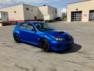 2011 Subaru Impreza WRX hatchback – Rally Blue