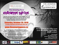 Volunteers Required for The Amazing Pace - Halloween Edition