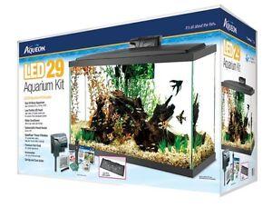 aqueon kit aquarium 29 gallons led neuf