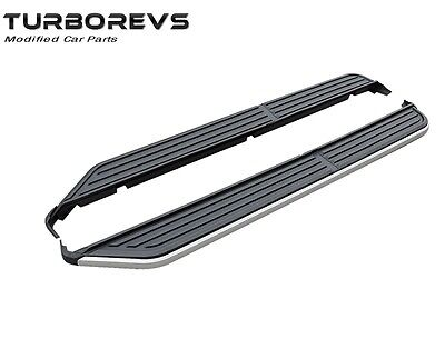 NEW SIDE STEPS RUNNING BOARDS FOR LAND ROVER DISCOVERY 3 AND 4 OE STYLE 8010