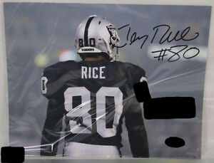 Autographed Jerry Rice