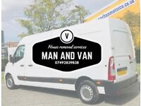 Man and van house removal services