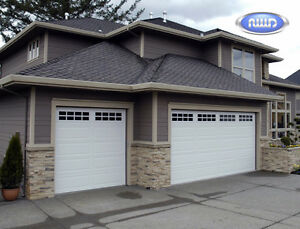 1- 9x8 new Northwest Door R-12 garage door with windows