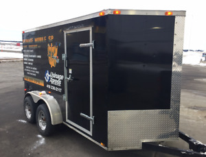 2016 Cynergy 6x12' Enclosed V-Nose Trailer