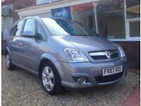 2007 07 Vauxhall Meriva 1.6i 16v Design FINANCE AVAILABLE
