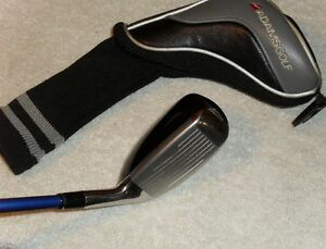 Adams Golf Idea Tech a4 #3 hybrid / Mens Left Hand / Flex-R