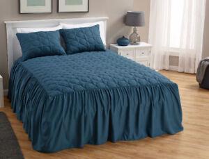 Flounce Bedspread - King, New