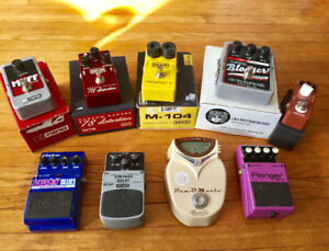 Guitar/Bass Pedal Clear-out