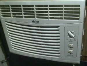 Haier 6000 BTU air conditioner, like new. Free delivery in KW
