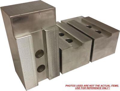 "5""   60 Degrees Kitagawa B206 Soft Steel Pointed CNC Lathe Chuck Jaw Set  3PC"