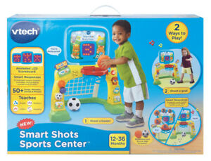 NEW: VTech Smart Shots Sports Center - $35 NO TAX