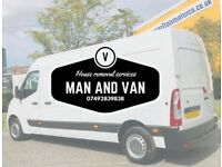 Man and van house removals service