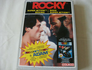 COLECO Video Game: ROCKY Super Action Boxing