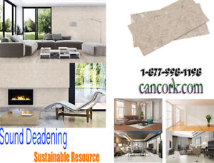 Have we Got a Deal For You on Cork Tiles, Acoustic Insulation