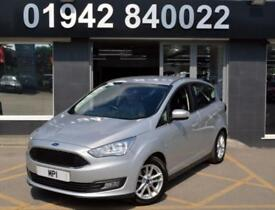 2015 65 FORD C-MAX 1.6 ZETEC 5D 124 BHP 5DR NEWSHAPE HATCH,1 OWNER, 27-000M FFSH