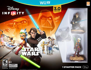 New Disney Infinity 3.0 Star Wars Starter Packs Wii U