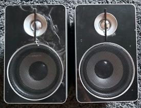 PAIR OF SMALL SPEAKERS 4 OHM/8 WATTS