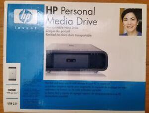 HP Personal Media Drive 300 GB USB 2.0 External - NEW