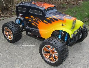 New RC Truck Brushless Electric 1/10 Scale LIPO  4WD 2.4G