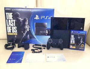 PS4   500GB - The Last of  Us Remastered Bundle