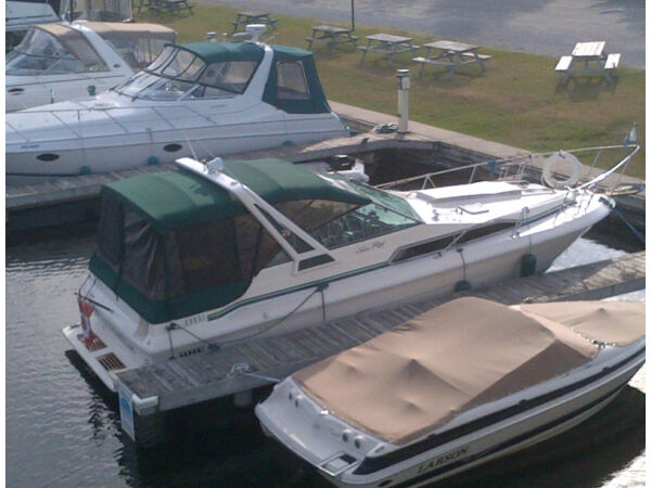Used 1987 Sea Ray Boats 1987 Searay 270 Sundancer aft cab