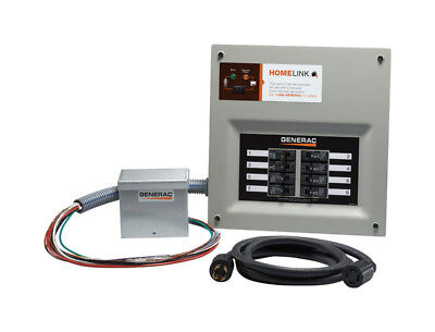 (Generac Home Link Transfer Switch   30A 8 Circuit 240 Volts [3839107])
